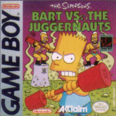 Bart vs the Juggernauts (Gameboy)