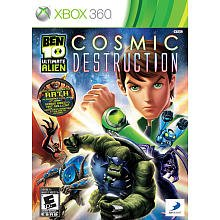 Ben 10: Ultimate Alien Cosmic Destruction (Xbox 360)