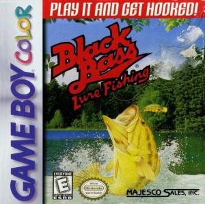 Black Bass: Lure Fishing (Gameboy Color)