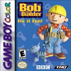 Bob the Builder Fix it Fun (Gameboy Color)