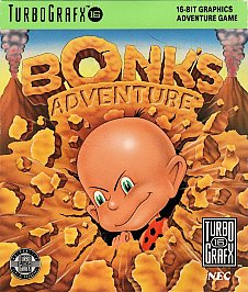 Bonk 1 Bonk's Adventure (Turbo Grafx 16)