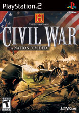 Civil War A Nation Divided (PS2)