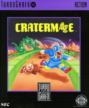 Cratermaze (Turbo Grafx 16)