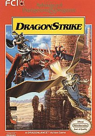 Advanced Dungeons and Dragons Dragon Strike (NES)