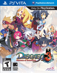 Disgaea 3: Absence of Detention (PSP Vita)