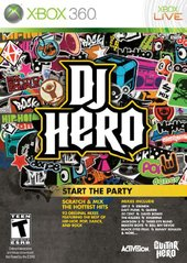 DJ Hero game only (Xbox 360)