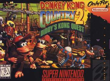 Donkey Kong Country 2: Diddy Kong's Quest (SNES)