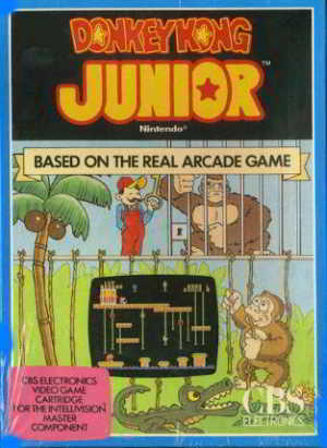 Donkey Kong Jr (Intellivision)