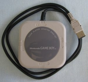 Gameboy Nintendo Four Player Adapter