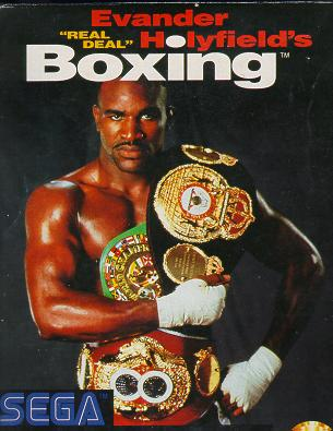 Evander Holyfield Boxing (Game Gear)