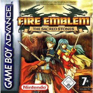 Fire Emblem The Sacred Stone (Gameboy Advance)