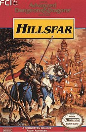 Advanced Dungeons and Dragons Hillsfar (NES)
