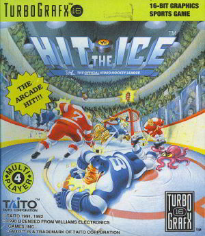 Hit the Ice (Turbo Grafx 16)