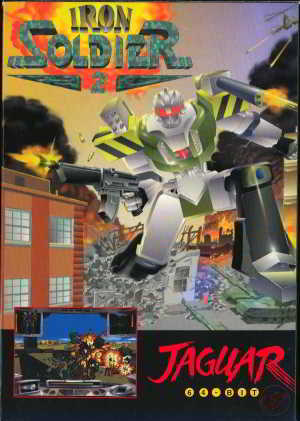 Iron Soldier 2 (CD) (Atari Jaguar)