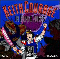 Keith Courage in Alpha Zone (T16)