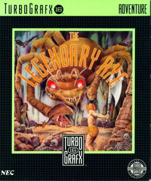 Legendary Axe (Turbo Grafx 16)