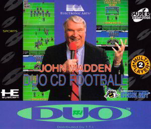 John Madden Duo CD Football (Turbo Grafx 16)