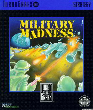 Military Madness (Turbo Grafx 16)