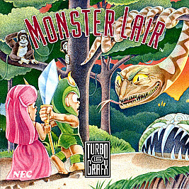 Monster Lair (Turbo Grafx 16)