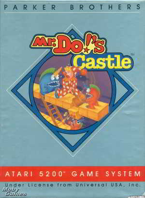 Mr. Do!'s Castle (Atari 5200)