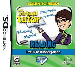 My Virtual Tutor Reading Adventure: Pre-K to Kindergarten (DS)
