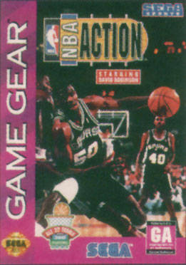 NBA Action (Game Gear)