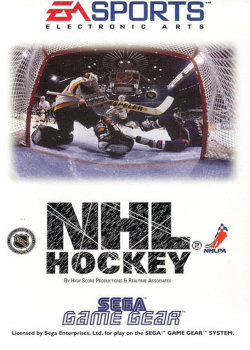 NHL Hockey (Sega Game Gear)