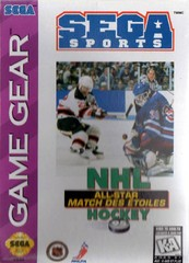 NHL All Star Hockey (Game Gear)