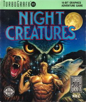 Night Creatures (Turbo Grafx 16)