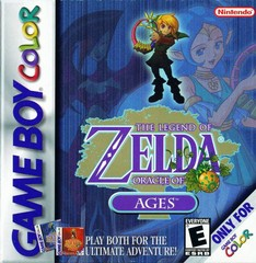 Zelda Oracle of Ages (Gameboy Color)