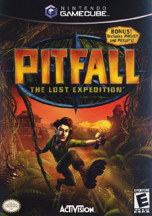 Pitfall The Lost Expedition (Gamecube)