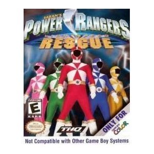 Power Rangers Rescue (Gameboy Color)