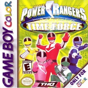 Power Rangers Time Force (Gameboy Color)
