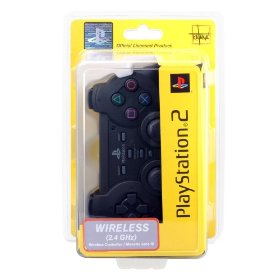 Officially Licensed PS2 Wireless Controller - Black