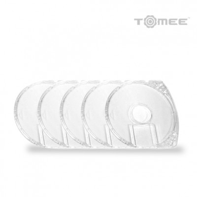 5x PSP UMD Replacement Case (Clear) (Bulk)