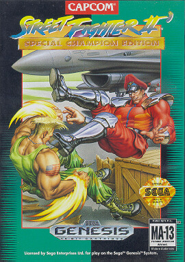 Street Fighter 2 Championship Edition (Genesis)