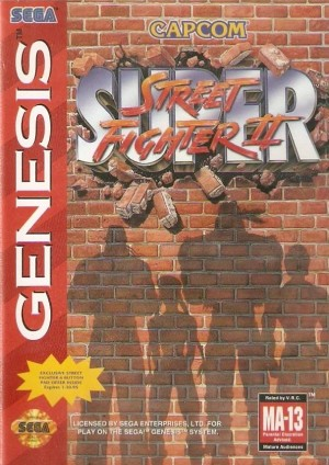 Super Street Fighter II (Genesis)