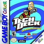 Tech Deck Skateboarding (Gameboy Color)