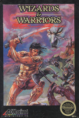 Wizards and Warriors (NES)