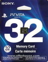 VITA: 32GB Memory Card (SONY)