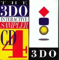 3DO Interactive Sampler CD #4 (3DO)