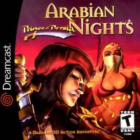 Arabian Nights Prince of Persia (Sega Dreamcast)
