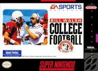 Bill Walsh College Football (SNES)
