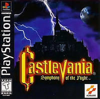Castlevania Symphony of the Night (Playstation)
