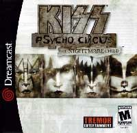 KISS Psycho Circus The Nightmare Child (Sega Dreamcast)