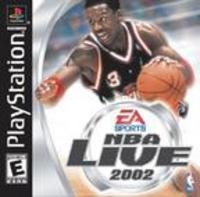NBA Live 2002 (Sony Playstation)