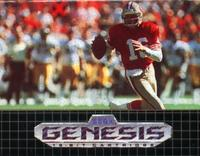 Joe Montana II Sports Talk Football (Genesis)