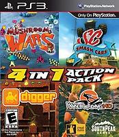 4 In 1 Action Pack (PS3)