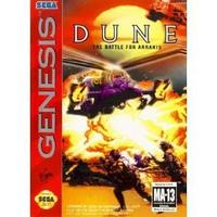 Dune the Battle for Arrakis (Sega Genesis Game)