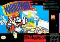 Mario Paint With Mouse and Mousepad (SNES)
